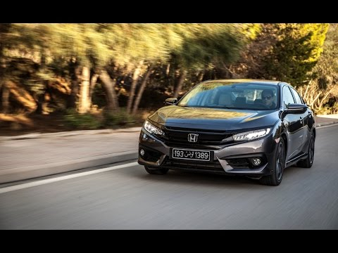 Essai Honda Civic RS en Tunisie