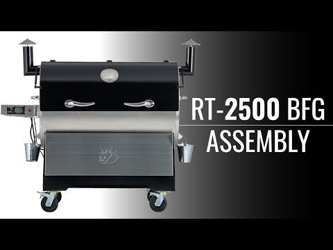 REC TEC Grills Assembly Instructions