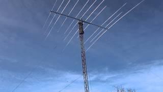 AD-335V2 11 elements triband yagi on RA3ICK/3 qth