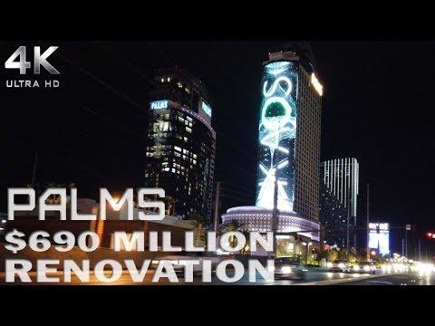 Palms Resort & Casino After $690 Million Renovation Narrated Walk Thru 4K