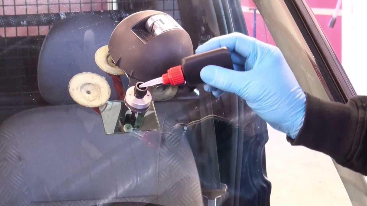 Reparere steinsprut selv
