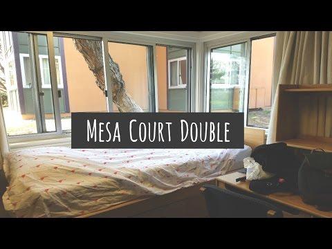 UC Irvine Mesa Court Double Room Tour
