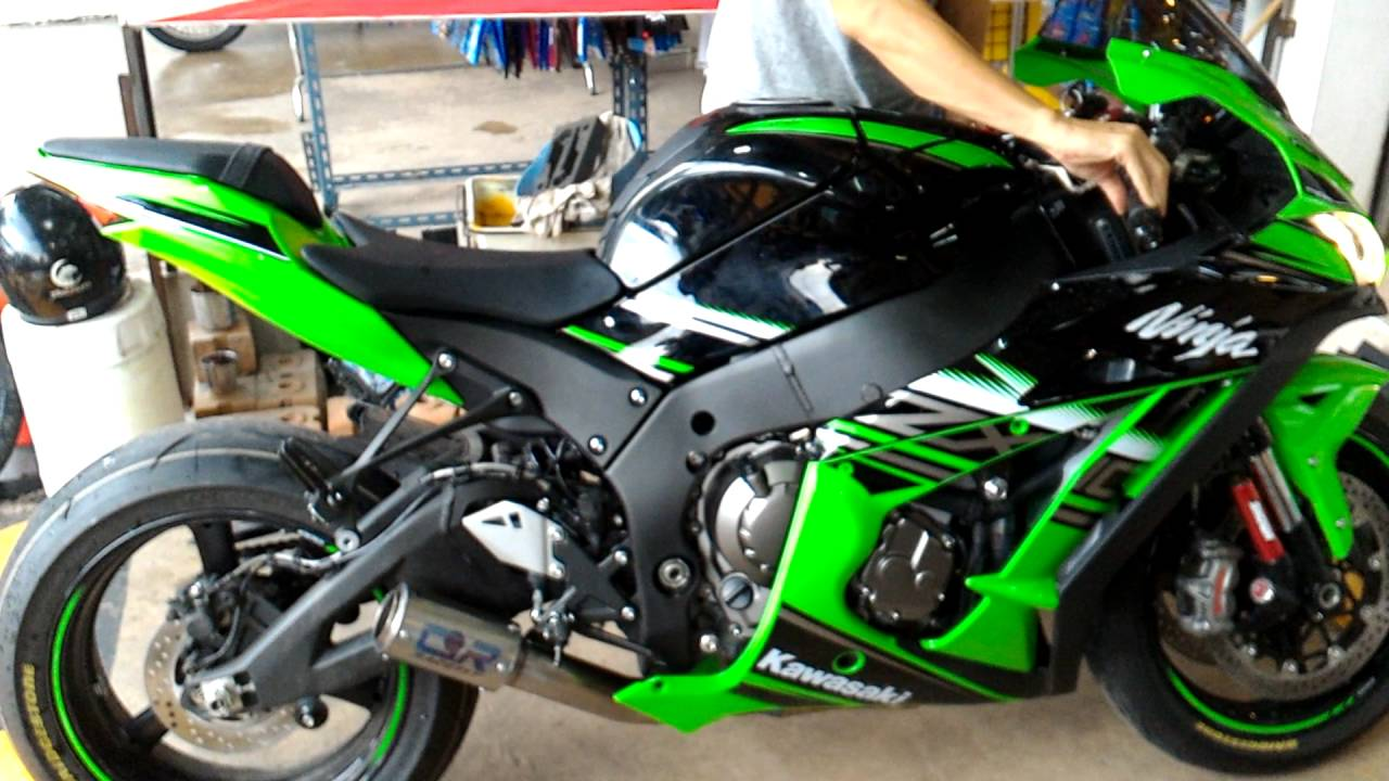 Kawasaki Zx10 2016 Racefit Exhaust Black Edition2016