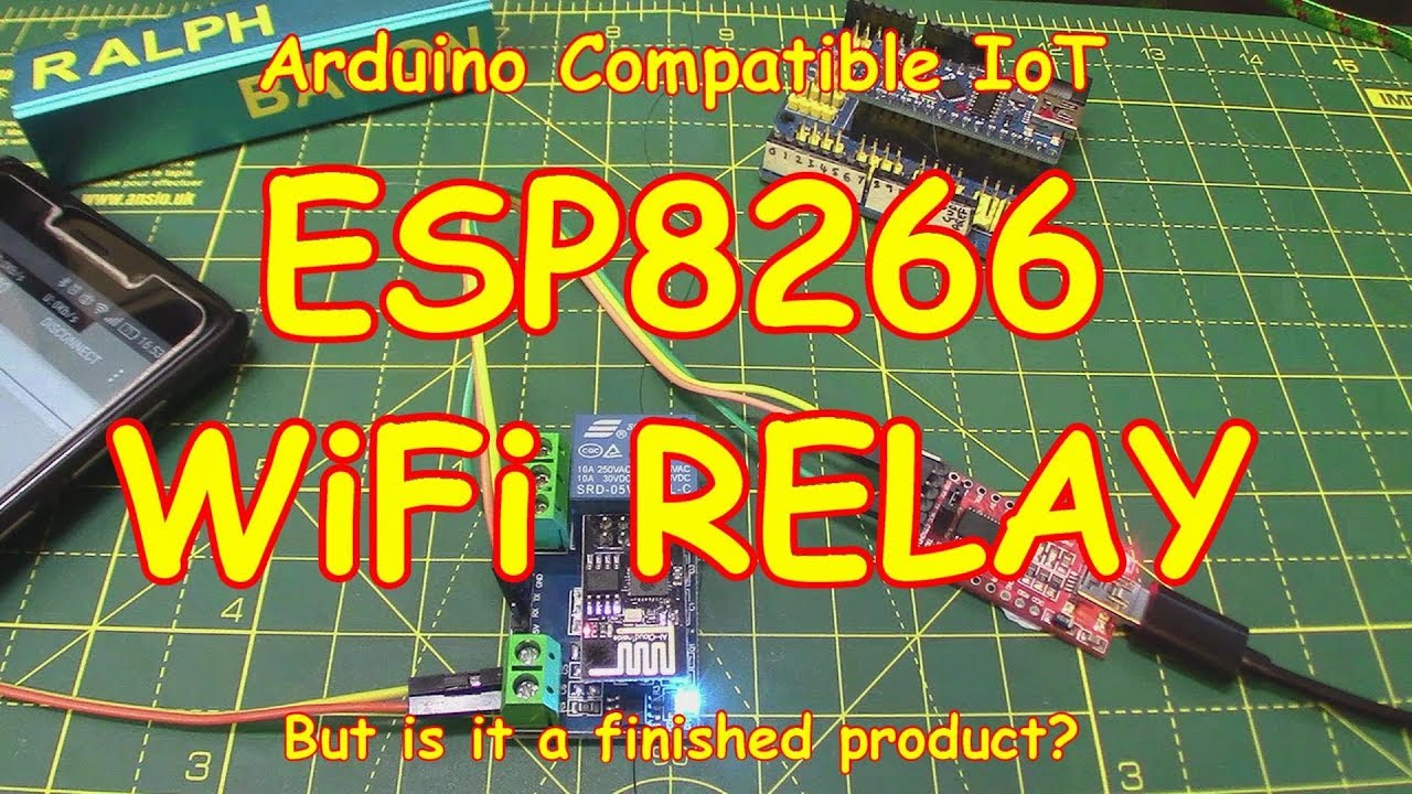 107 Esp8266 Wifi Relay With An Arduino Youtube Techstrong Basic Electronics Project4 Simple Electronic Code Lock