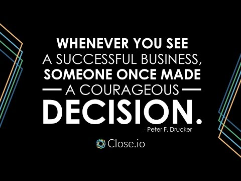 Sales motivation quote: Whenever you see a successful business, someone once ...
