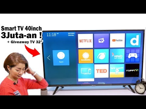 3jt-an.. Review Hisense TV ft Mba GE + GIVEAWAY TV 32""