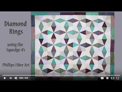 Phillips Fiber Art  45-Degree Sewing Templates
