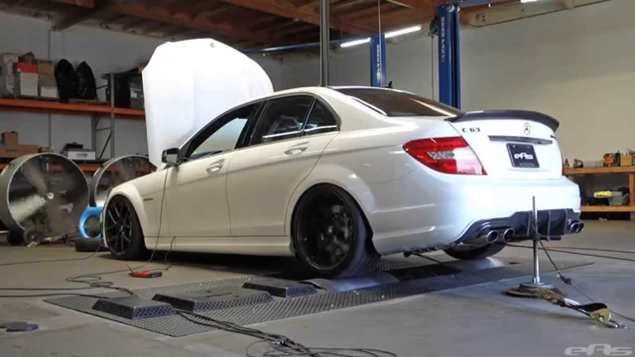 2014 Mercedes Benz C63 AMG Dyno - Agency Power Headers & Midpipe,  Eurocharged Tune