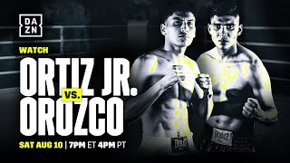 Ortiz vs. Orozco Final Press Conference