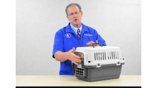 Petsolutions: Essentials Portable Plastic Pet Carriers