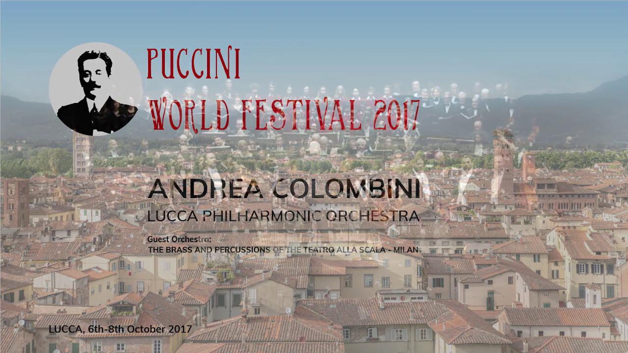 Trailer Puccini World Festival OCTOBER 2017 FIRST EDITION - LUCCA TEATRO DEL GIGLIO