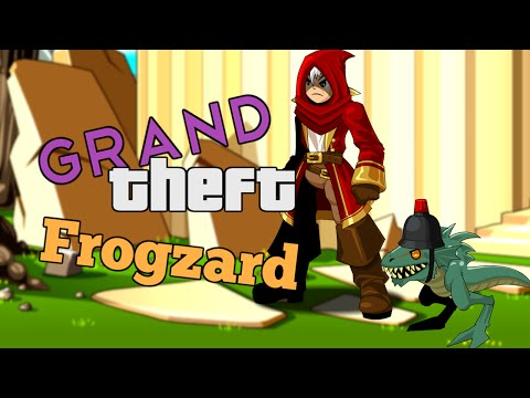 AQW Grand Theft Frogzard