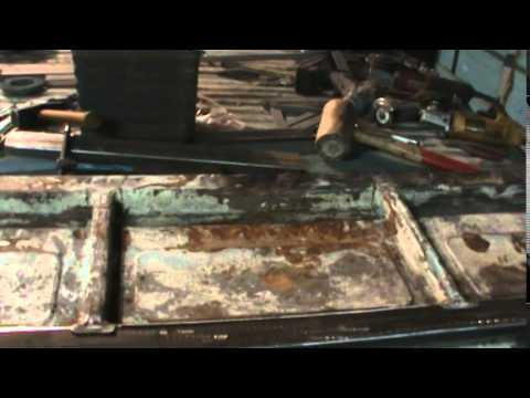 sectioning the the tailgate vw double cab