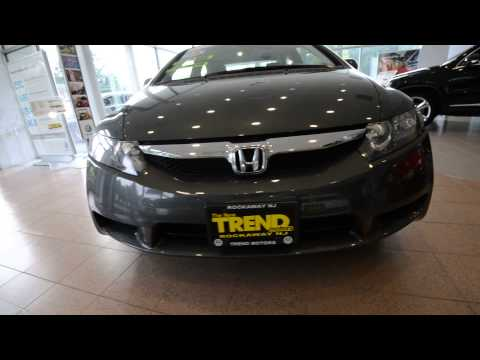 2009 Honda Civic EX Sedan (stk# 30245SA ) for sale Trend Motors Used Car Center Rockaway, NJ