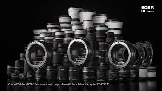 Canon EOS R System: Compatibility