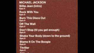 Michael Jackson - Rare 1984 Disco Mix Club Megamix
