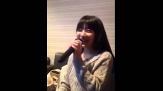矢吹奈子 - Yabuki Nako 【HKT48】カラオケ2015.12.29.
