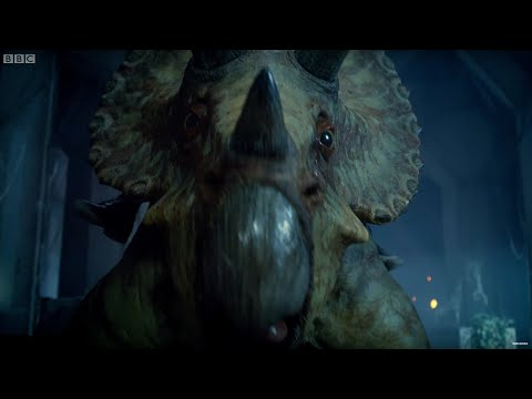 Escaping On A Triceratops! - Dinosaurs on a Spaceship - Doctor Who - BBC
