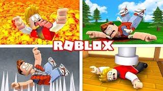 SURVIVE ROBLOX'S MOST DANGEROUS TRAPS!