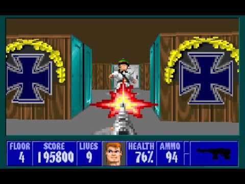 Let's Play Wolfenstein 3D 20: Retracing Steps