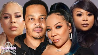 T.I. and Tiny's dark secrets EXPOSED! | Tiny's BFF Shekinah goes off on Sabrina Peterson