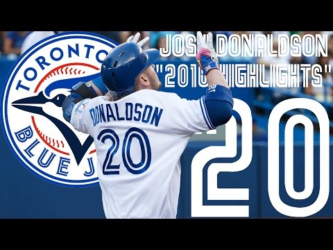 Josh Donaldson | Toronto Blue Jays | 2016 Highlights Mix ᴴᴰ