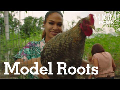 SUPERMODEL ROOTS: Joan Smalls Takes Us Back To Puerto Rico | Vogue Paris