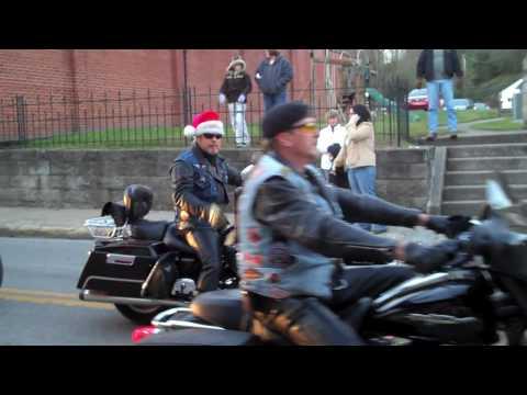 Christmas Parade in Whitesburg, Kentucky