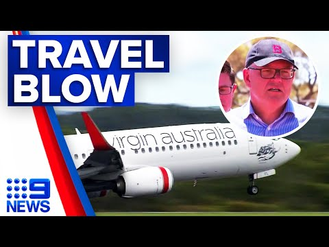 Coronavirus: Border restrictions to remain until next year | 9 News Australia thumbnail