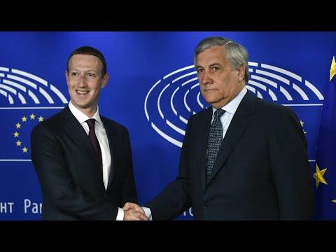 'I'm sorry,' Facebook's Zuckerberg tells EU Parliament