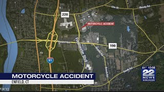Agawam man seriously hurt in Enfield motorcycle crash|WWLP-22News