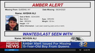 AMBER Alert Issued For 15-Year-Old In Queens