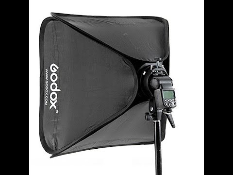 Godox softbox 24x24 inches and s-bracket: review, demo and sample pictures