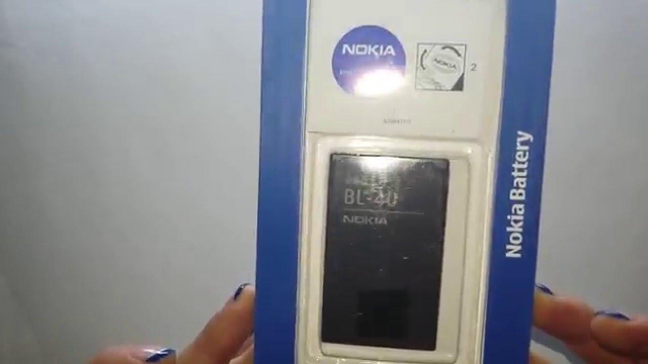 Аккумулятор BL-4C для Nokia - 900 mAh - Craftmann - YouTube