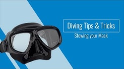 Diving Tips & Tricks: Stowing your Scuba Mask