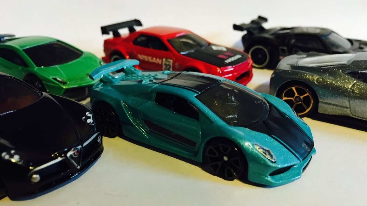 Hot Wheels Super Car Tournament Cars Race Ft Lamborghinis