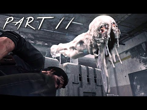 THE EVIL WITHIN 2 Walkthrough Gameplay Part 11 - Fallout Bobblehead (PS4 Pro)