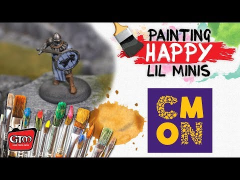 Painting Happy Lil Minis: Song of Ice and Fire part 1
