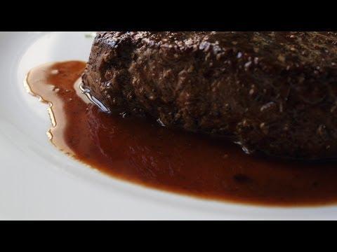 "Pan Sauce ""Bordelaise"" - Red Wine Reduction Steak Sauce"