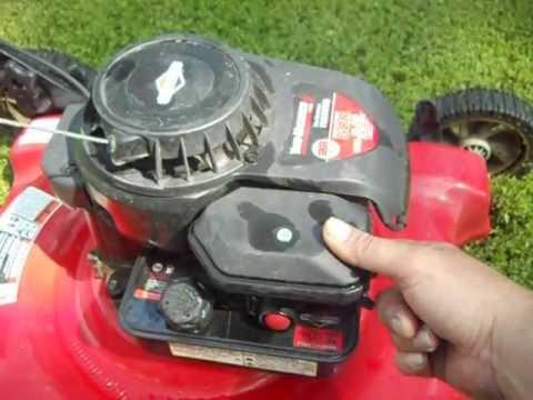 Lawn Mower On Premium Gas