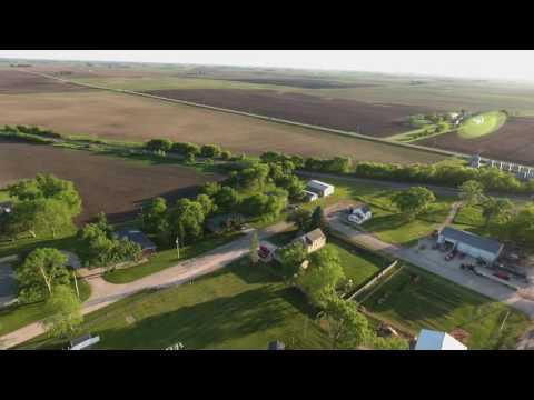 Gilmore City/Bradgate, Iowa drone flight