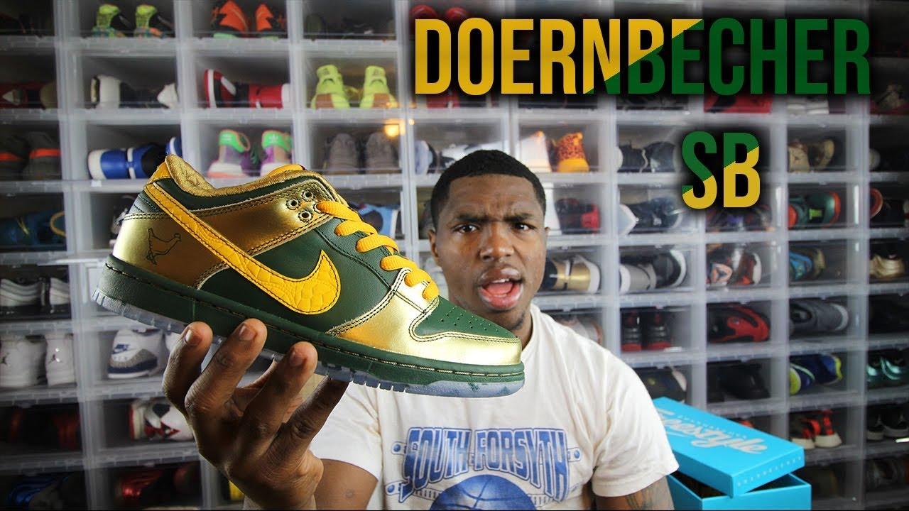 newest 8de3b fda17 Nike Doernbecher Sb Dunk Low Review!