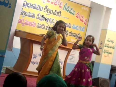 musalamma muchatlu song dance by Thabitha and Honey at Carmel meerpet Hyderabad GTFL
