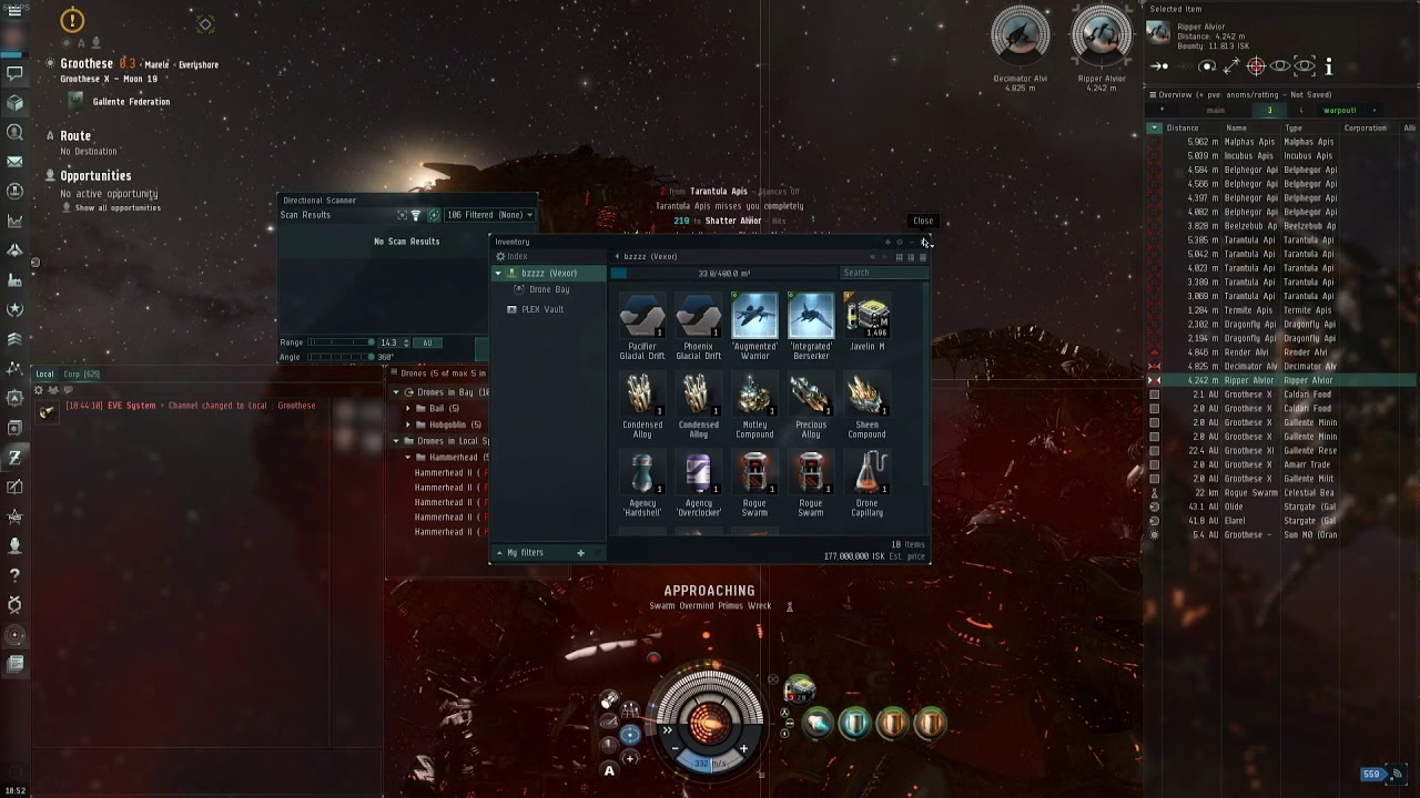 Rogue Drone Sites [100-200 million ISK/hour] - EVE Online ISK Guide
