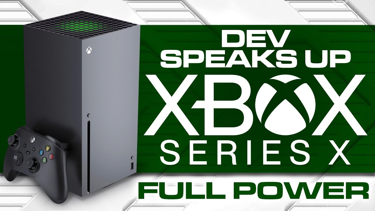 Xbox Series X Dev Speaks up on the Full Power | More than 12 Teraflops Next Generation Console News