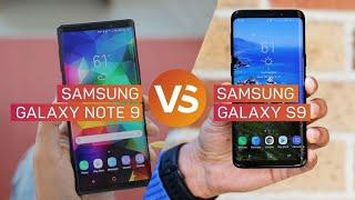 ¿Galaxy Note 9 o Galaxy S9?: Comparamos sus especificaciones y características