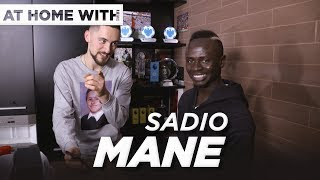 At home with Sadio Mane  Guided tour THAT Everton goal and more with VUJ