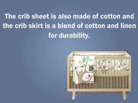 Baby Crib Bedding Sets -  Skip Hop 4 Piece Crib Bedding Set, Treetop Friends