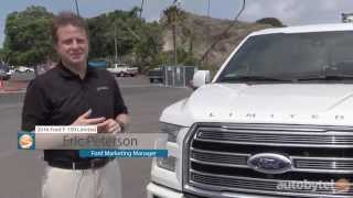 What makes a $60K Pick-up? 2016 Ford F 150 Limited First Look w/ Pro Trailer Backup Assist