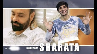 Sharata - Babbu Maan | Official Audio || Reaction By Solid Reactors ||